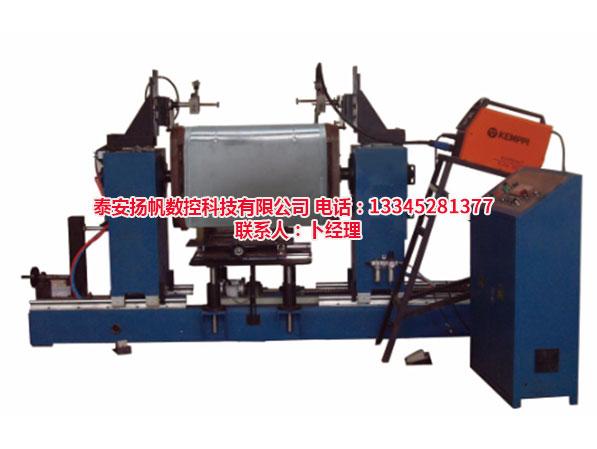 山东方形铝合金油桶环缝自动焊接专机